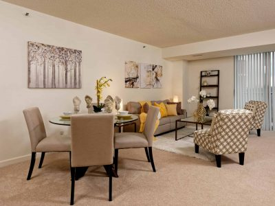 Bethesda Place living/dining room