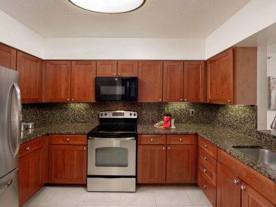 Bethesda Place kitchen