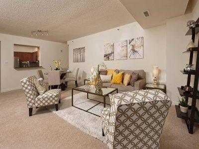 Bethesda Place living room