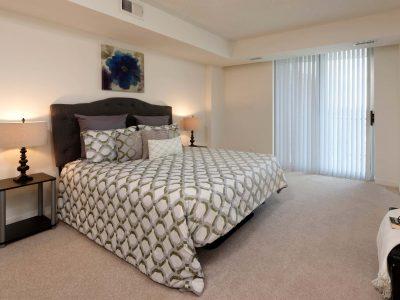 Bethesda Place master bedroom